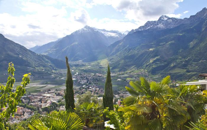 LandYachting Camping Hermitage Wohnmobil Südtirol Meran