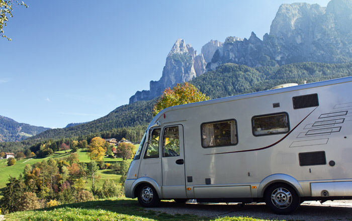 Landyachting camping Seiser Alm