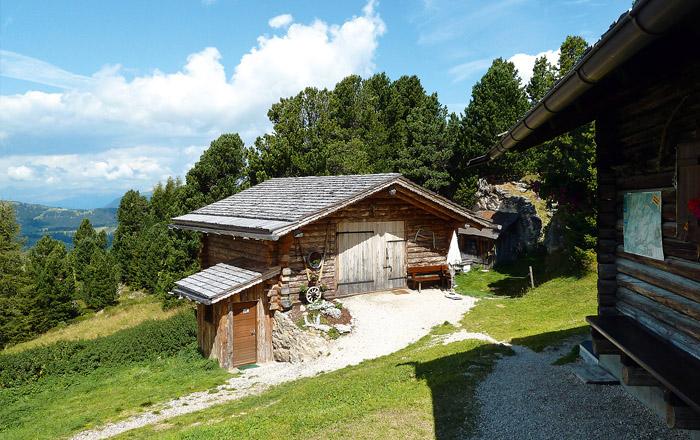 landYachting Seiser Alm Murmetierhütte