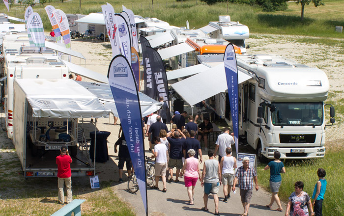 LandYachting Bad Duerrheim Technik Caravane
