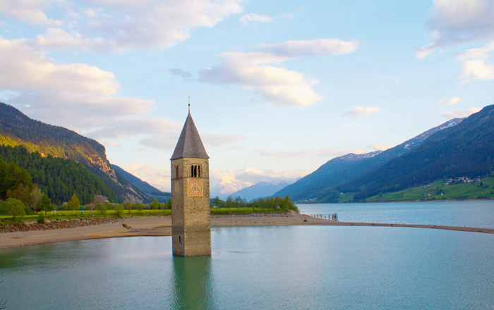 LandYachting Campingplatz Südtirol Wohnmobil Vinschgau Reschenpass Reschensee