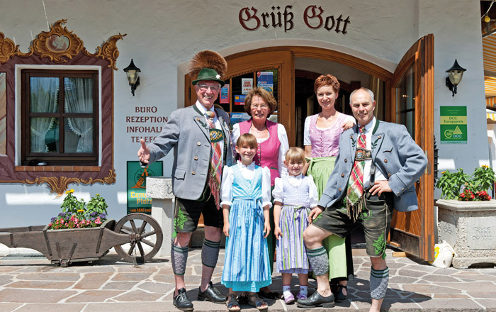Landyachting Campingplatz Tennsee Familie