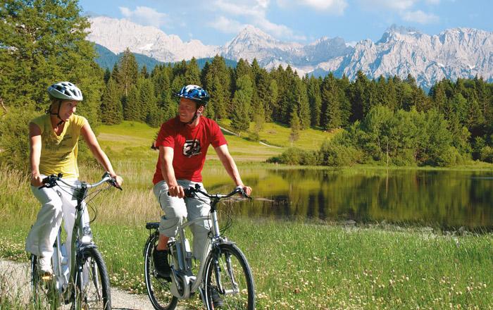 LandYachting Radtour Alpen Caravanpark Tennsee