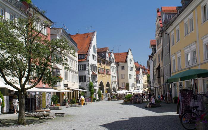 Durch die Altstadt von Lindau kann man wunderbar bummeln
