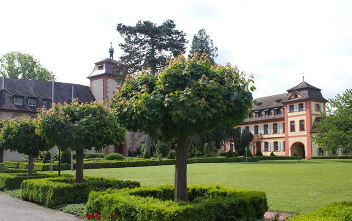 In Heitersheim kann man das Maltheserschloss besuchen