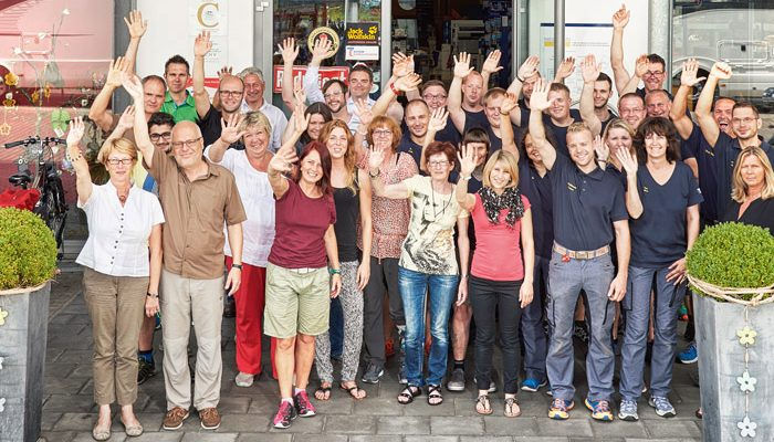 Das Team von Niesmann Caravaning