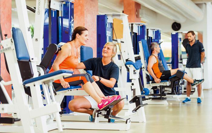 Fitness mit Anleitung gibt es im MTT beim Solemar