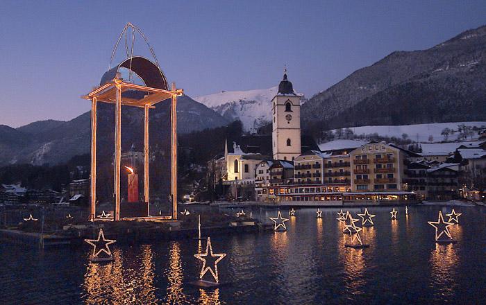 In St. Wolfgang gibt es in der Adventszeit schöne Veranstaltungen