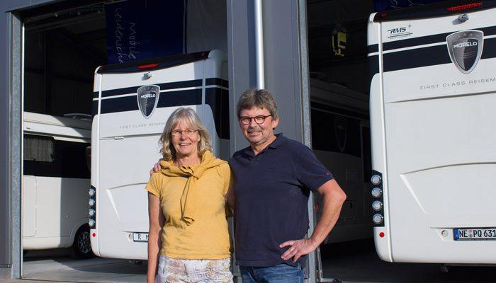 Das Team von RMS: Susanne und Detlev Stahnke