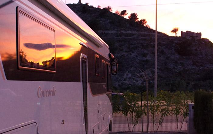 LandYachting Campingplatz in Spanien an der Costa Blanca