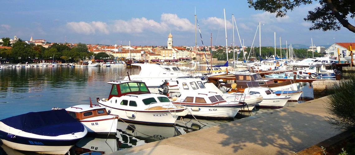 Stadt Krk auf der Kroatien Tour