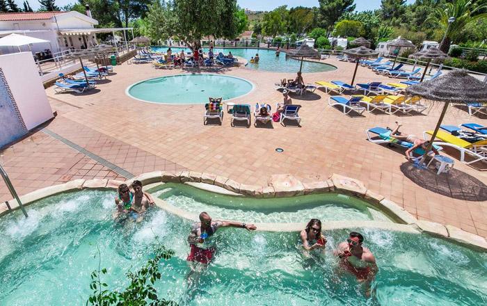 Luxus-Camping an der Algarve