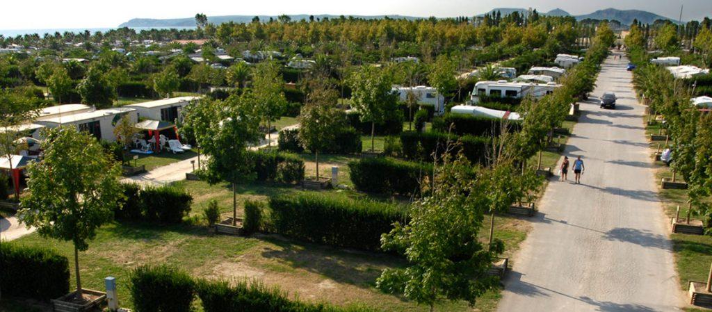 Der Campingplatz Las Dunas hat für LandYachting-Kunden XXL-Plätze
