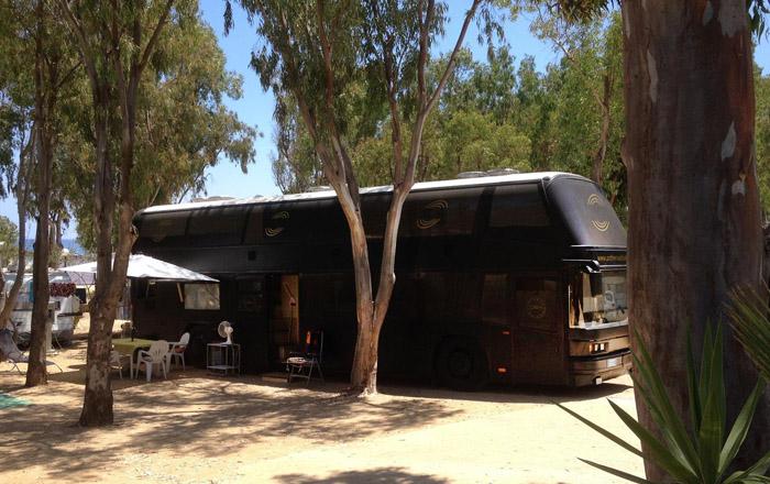 LandYachting Excellent Place Campingplatz Capo Ferrato XXL