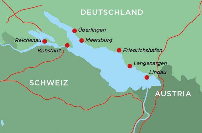 Insel Reichenau Karte.Landyachting Wohnmobil Tour Am Bodensee Landyachting