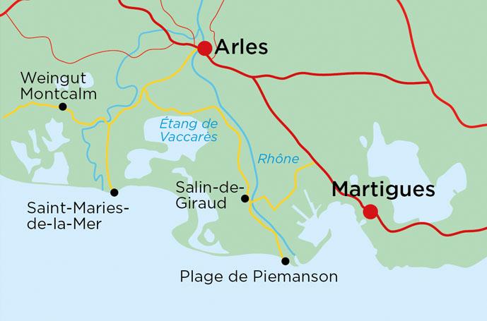 Camargue Karte.Landyachting Wohnmobil Tour In Die Carmargue Landyachting