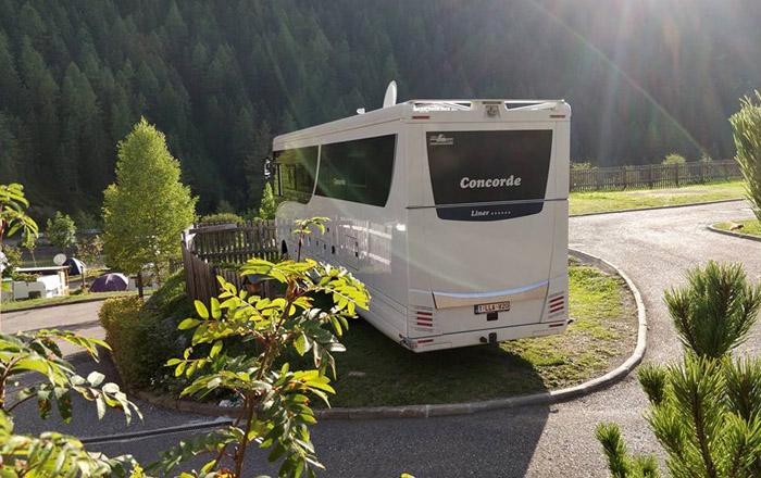 Der wunderschön gelegene Welnnes & Wintercamping hat auch Platz für XXL-Liner