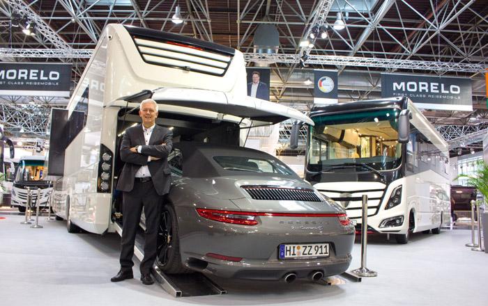 Jörg Ziesener ist der Inhaber der Ziesener First Class Reisemobile GmbH