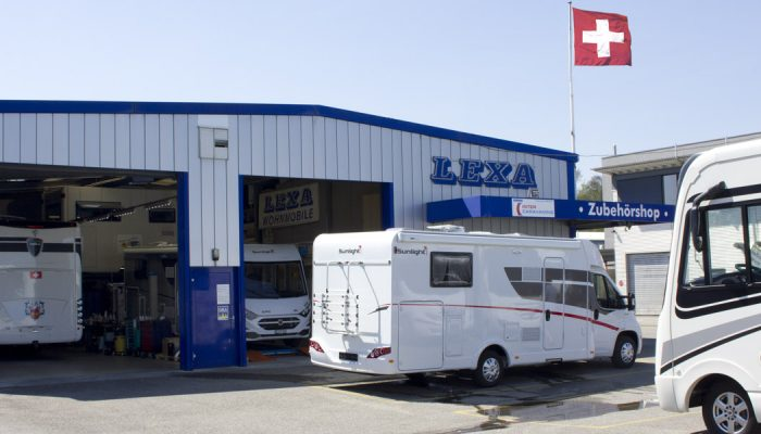 LandYachting Lexa Werkstatt