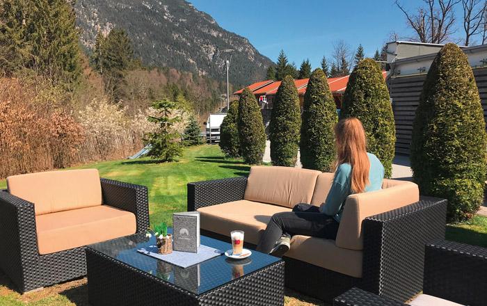 LandYachting Camping Resort Zugspitze Lounge